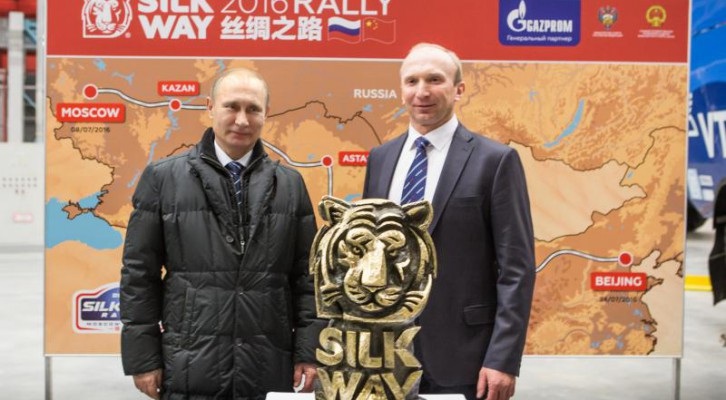 Vladimir Putin apoya el Silk Way Rally