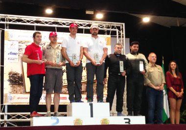 Gracia Podium EVO Cup Baja Almanzora