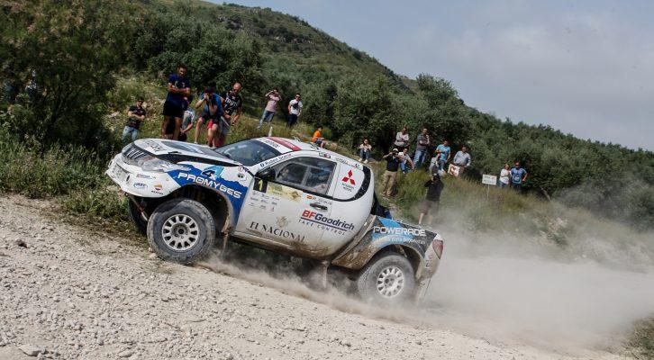 Victoria para Rubén Gracia en la primera edición del Rally TT Mar de Olivos