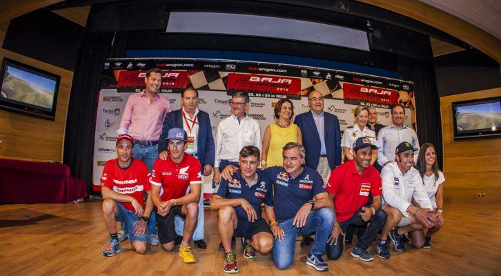 Los pilotos dan la bienvenida a la Baja Aragón 2016
