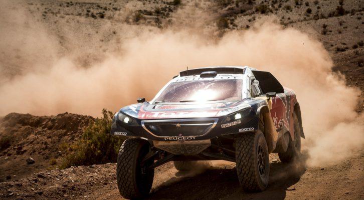 Carlos Sainz y el Peugeot 2008 DKR buscarán la victoria en la Baja Aragón